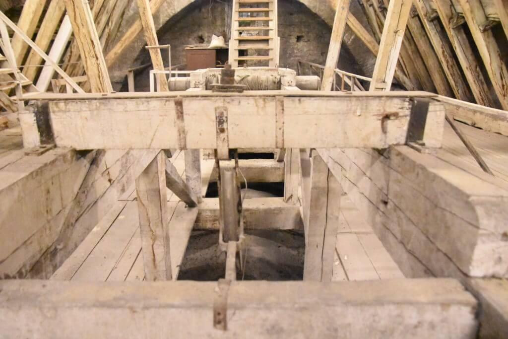 Malteserkirche Dachstuhl