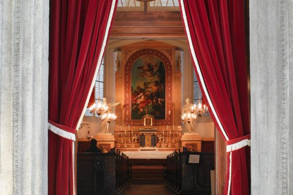 Malteserkirche Eingang