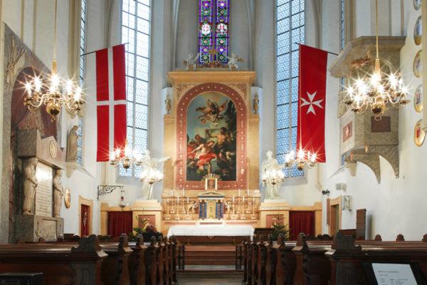 Malteserkirche Innen