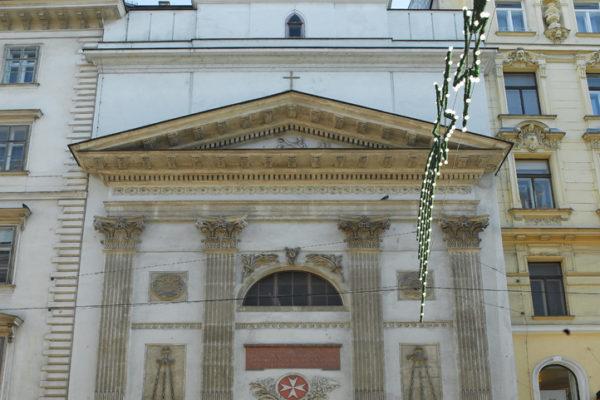Malteserkirche in Wien von Außen
