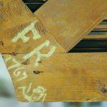 Malteserkirche Sonnholz-Orgel Inschrift