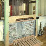 Malteserkirche Sonnholz-Orgel Rekonstruktion Spieltisch