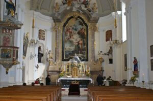 Pfarrkirche Mailberg Innen