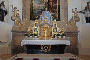Pfarrkirche Mailberg Altar