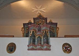 Pfarrkirche Mailberg Orgel