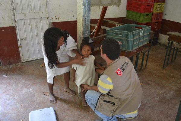 Malteser International Soforthilfe Kolumbien