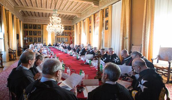 Der große Staatsrat Malteserorden