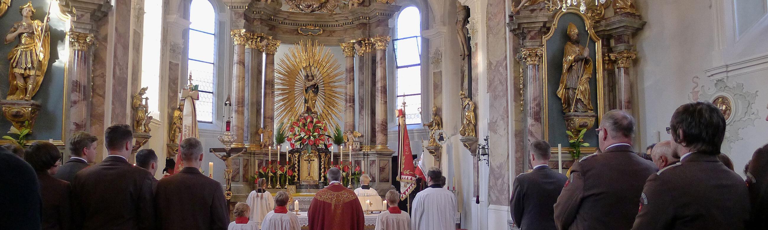Pfarrkirche Amras Johannesgemeinschaft Messe SMRO MHDA