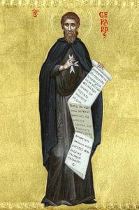 Seliger Gerhard Gründer des Ordens des Heiligen Johannes Welttage SMRO