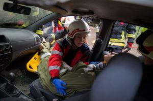 Malteser Bundesübung 2019 Veranstaltung EMT Training Johanniter Samariter FFW Steyregg