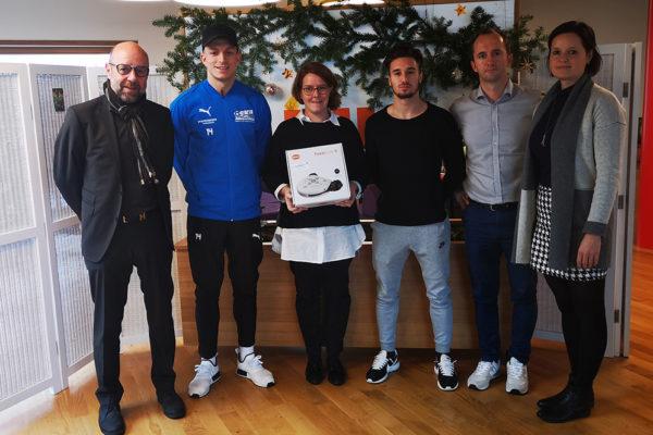 Förderung Sportklub Ertl Glas Spende Amstetten Malteser Kinderhilfe MKH HUH