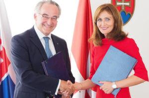 Memorandum of Understanding Zusammenarbeit Gesundheitsministerium Slowakei Malteserorden Veranstaltung