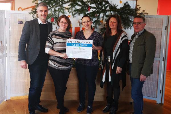 Spende Voestalpine Malteser Kinderhilfe Hilde Umdasch Haus MKH HUH