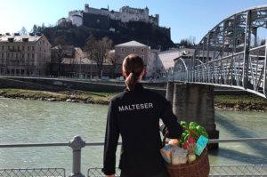 Malteser Salzburg Einkaufsdienst Lieferservice TB NEU