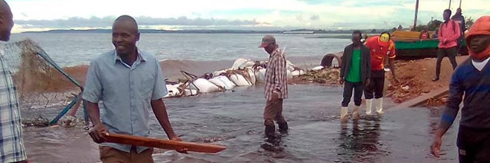 Malteser International Uganda Flutkatastrophe BB