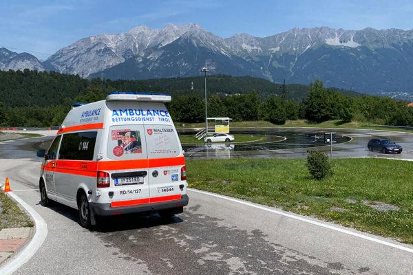 Malteser Tirol Fahrsicherheitstraining Juli 2020 1 1