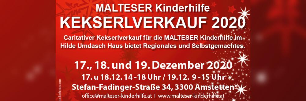 Malteser Kinderhilfe Kekserlverkauf BB Neu