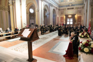 MMalteserorden Rom Grossmeister Statthalter Wahl Veranstaltung Fra Marco Luzzago