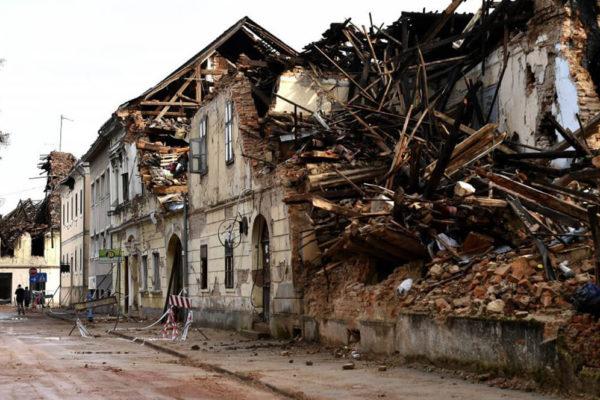Kroatien Erdbeben 2020 1