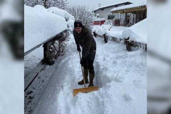 Malteser Tirol helfen Winterdienst Jaenner 2