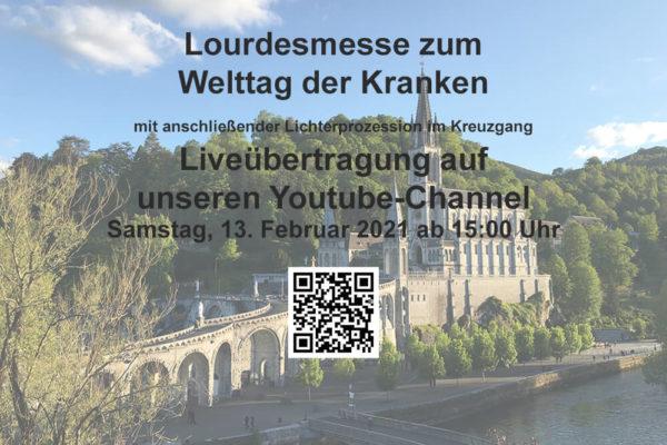 Lourdesmesse zum Welttag der Kranken
