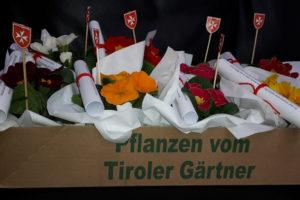 Malteser Tirol Blumengruss fuer Betreute 1