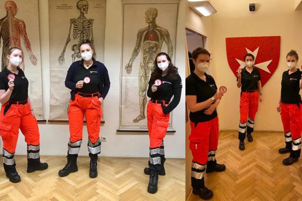 Malteser Wien neue Rettungssanitaeterinnen 1