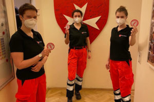 Malteser Wien neue Rettungssanitaeterinnen 2