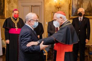 Verleihung EuD Grosskreuz Bailli Silvano Tomasi 2