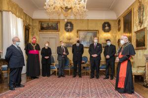 Verleihung EuD Grosskreuz Bailli Silvano Tomasi 3