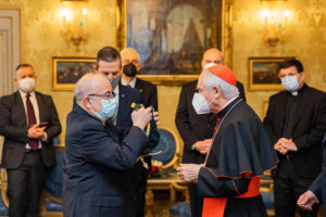 Verleihung EuD Grosskreuz Bailli Silvano Tomasi 4