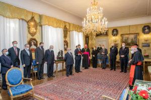 Verleihung EuD Grosskreuz Bailli Silvano Tomasi 5
