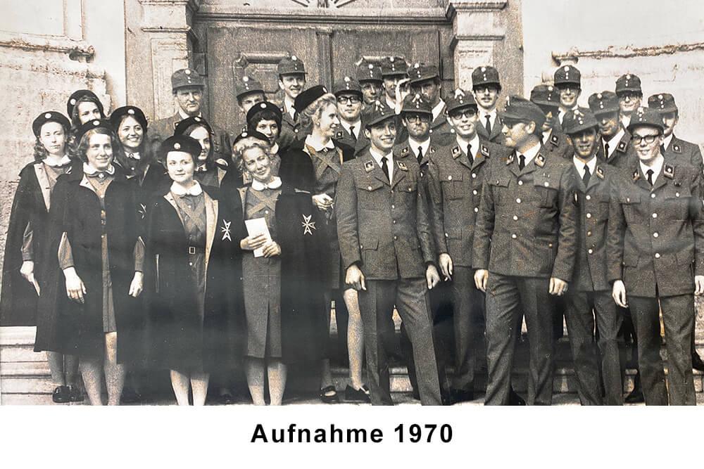 50 Jahre Malteser Tirol Vorarlberg Aufnahme 1970