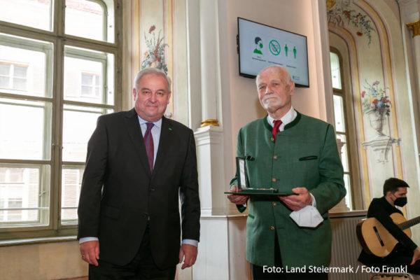 Malteser Steiermark Goldenes Ehrenzeichen Muhri Winfried 1