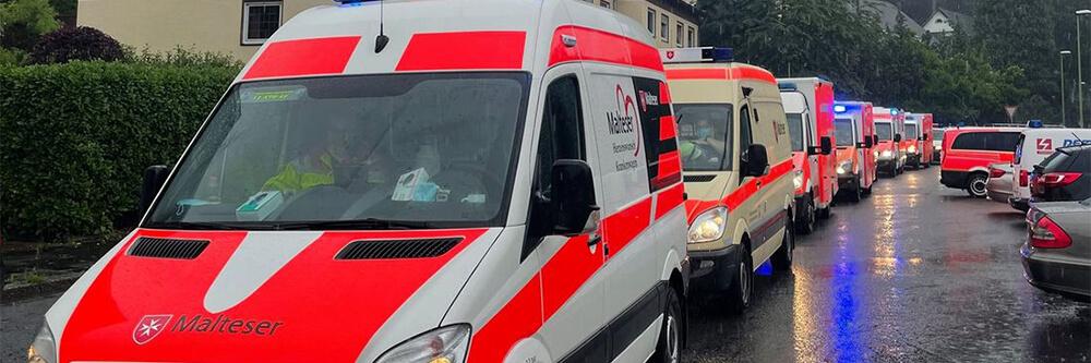 Malteser Deutschland Hochwasser bedrohlich BB