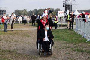 Malteserorden Slowakei Hilfe Papstreise 1