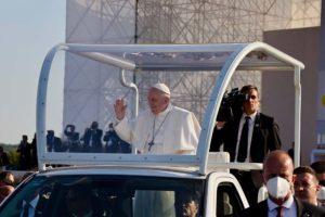 Malteserorden Slowakei Hilfe Papstreise 3