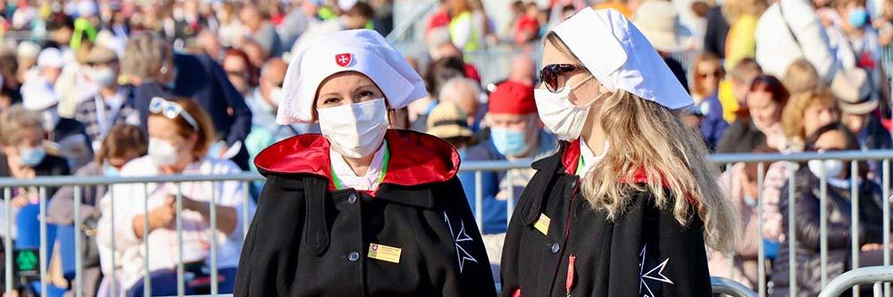 Malteserorden Slowakei Hilfe Papstreise BB